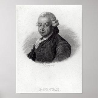 Portrait of Pierre Poivre Poster