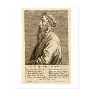 Portrait of Pieter Brueghel the Elder (c.1527/8-69 Postcard