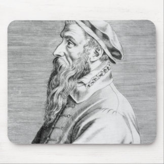 Portrait of Pieter Brueghel the Elder Mouse Pad
