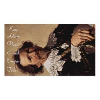 'Portrait of Pieter van den Broecke' Double-Sided Standard Business Cards (Pack Of 100)