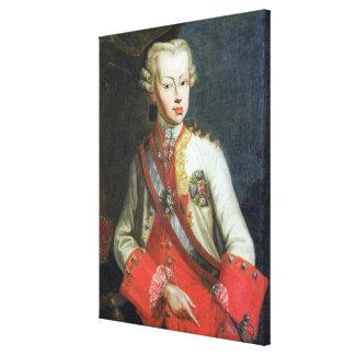 Portrait of Pietro Leopoldo di Lorena, c.1750 (oil Canvas Print