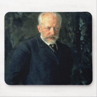 Portrait of Piotr Ilyich Tchaikovsky Mouse Pad