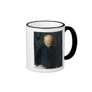 Portrait of Piotr Ilyich Tchaikovsky Coffee Mugs