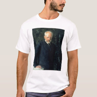Portrait of Piotr Ilyich Tchaikovsky T-Shirt