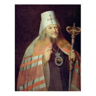 Portrait of Plato II, Metropolitan of Moscow Postcard