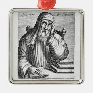 Portrait of Plutarch Metal Ornament