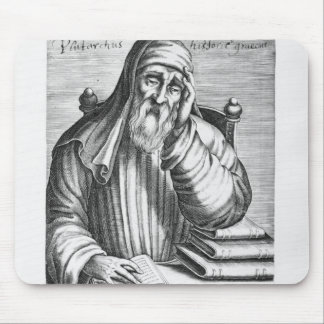 Portrait of Plutarch Mouse Pad