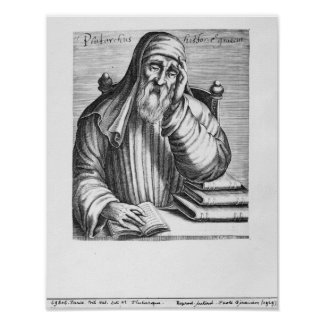 Portrait of Plutarch Poster