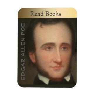 Portrait of Poe Magnet