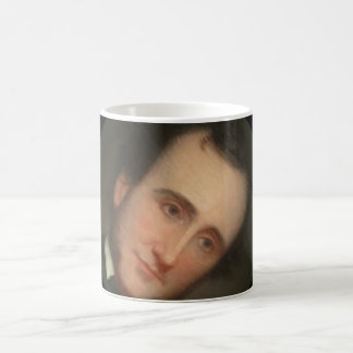 Portrait of Poe 11 Oz Magic Heat Color-Changing Coffee Mug