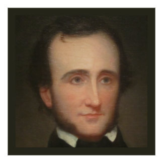 Portrait of Poe Poster