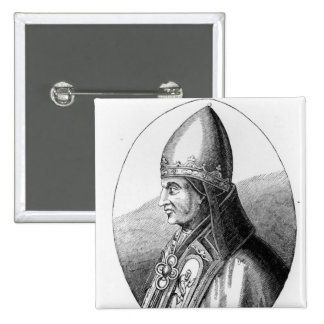 Portrait of Pope Gregory IX Buttons