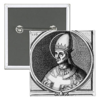 Portrait of Pope Gregory VII Button