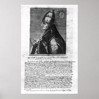 Portrait of Pope John XXII Poster