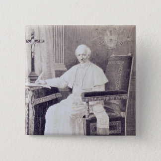 Portrait of Pope Leo XIII Button