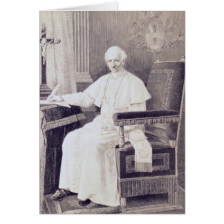 Portrait of Pope Leo XIII Card