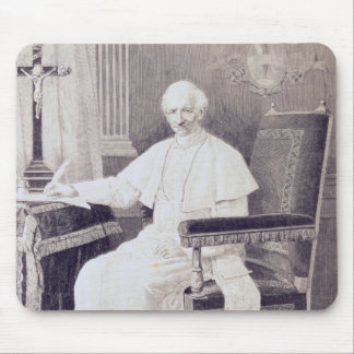 Portrait of Pope Leo XIII Mouse Pad