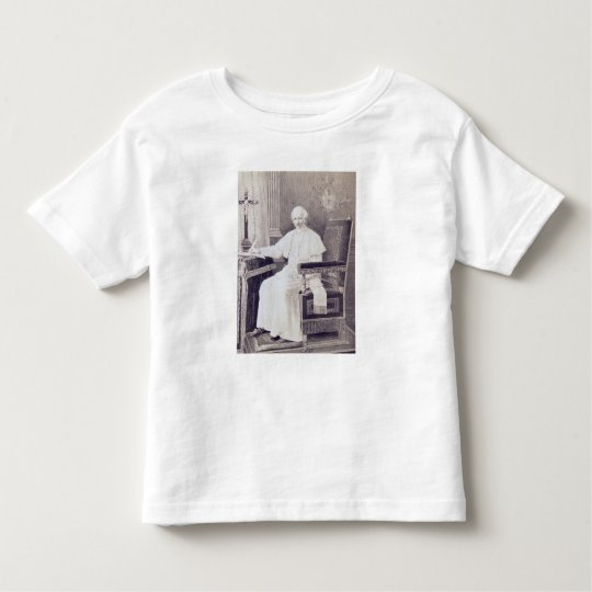 Portrait of Pope Leo XIII Toddler T-shirt