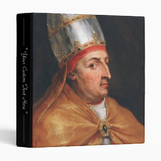 Portrait of Pope Nicholas V Peter Paul Rubens 3 Ring Binder