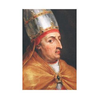 Portrait of Pope Nicholas V Peter Paul Rubens Canvas Print