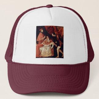 Portrait Of Pope Paul Iii, Cardinal Alessandro Far Trucker Hat