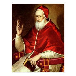 'Portrait of Pope Pious V' Postcard