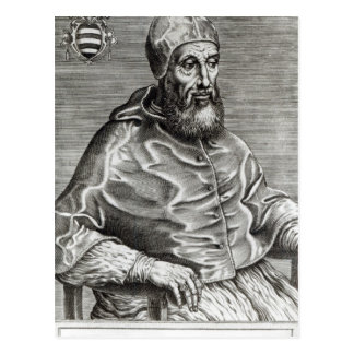 Portrait of Pope Pius IV, 1555 Postcard