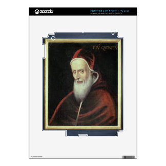 Portrait of Pope Pius V (1504-72) (oil on canvas) Skins For iPad 3