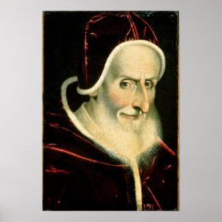 Portrait of Pope Pius V   1576-80 Poster