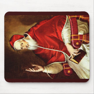 Portrait Of Pope Pius V. By Greco El Mouse Pad