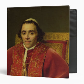 Portrait of Pope Pius VII , 1805 3 Ring Binder