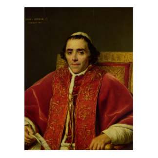 Portrait of Pope Pius VII , 1805 Postcard