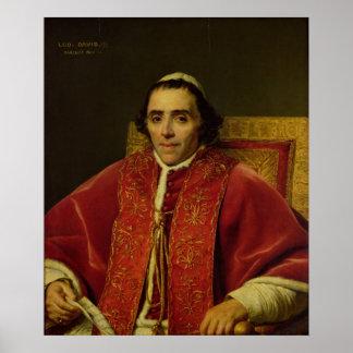 Portrait of Pope Pius VII , 1805 Poster