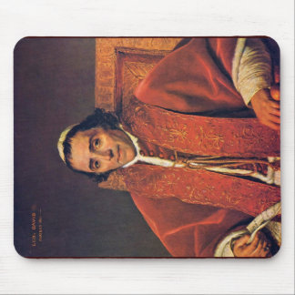Portrait Of Pope Pius Vii By David Jacques-Louis ( Mouse Pad