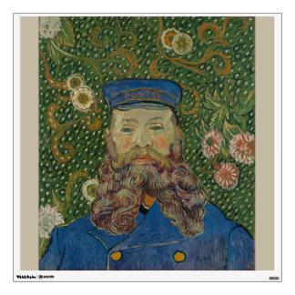 Portrait of Postman Joseph Roulin by Van Gogh Wall Skin