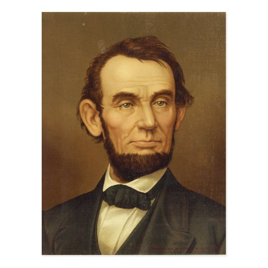 Portrait of President Abraham Lincoln Postcard