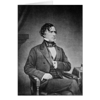 Portrait of President Franklin Pierce by M Brady Card