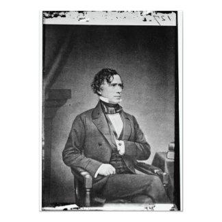 Portrait of President Franklin Pierce by M Brady Cards