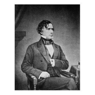Portrait of President Franklin Pierce by M Brady Postcard