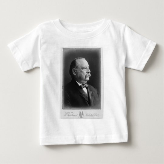 Portrait of President Stephen Grover Cleveland Baby T-Shirt