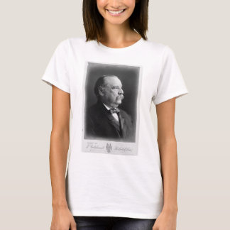 Portrait of President Stephen Grover Cleveland T-Shirt