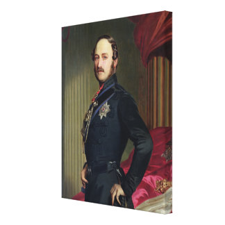 Portrait of Prince Albert (1819-61) 1859 (oil on c Canvas Print