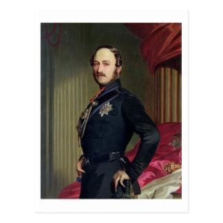 Portrait of Prince Albert (1819-61) 1859 (oil on c Postcard