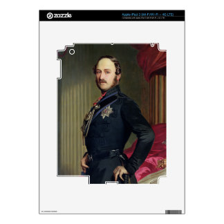 Portrait of Prince Albert (1819-61) 1859 (oil on c Skins For iPad 3