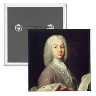 Portrait of Prince Antiokh Kantemir Pinback Button