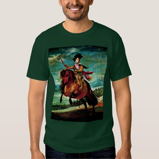 Portrait Of Prince Balthasar Carlos On Horseback T Shirts
