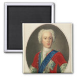 Portrait of Prince Charles Edward 2 Inch Square Magnet