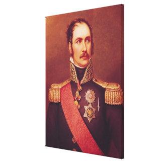 Portrait of Prince Eugene de Beauharnais Canvas Print