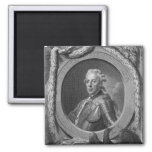 Portrait of Prince Henry of Prussia , 1779 2 Inch Square Magnet