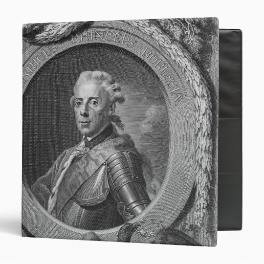 Portrait of Prince Henry of Prussia , 1779 Binder